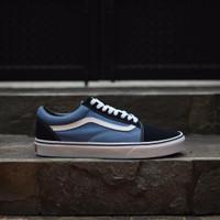 Sepatu Vans Old Skool Navy ( Grade Ori ) Murah
