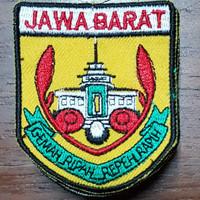 logo JAWA BARAT jual per kodi / 20ptg
