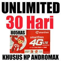 Perdana Smartfren 4G LTE UNLIMITED Hp Andromax A2, BSE, L, Prime