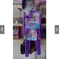 baju renang muslim anak perempuan tanggung m L XL 3L SPEEDO