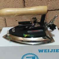 Kepala Setrika Uap Merk Weijie Model Geser Kepala setrika boiler
