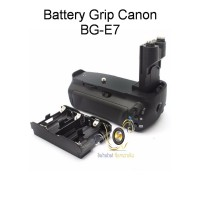 Battery Grip BG-E7 Canon 7D (include AA magazine) + free 1 pcs LPE7