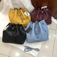 Tas Zara Serut Bucket Drawstring Shoulder Bag Grade Ori Murah Import