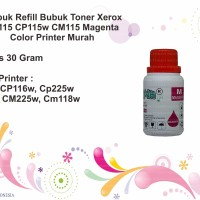 Serbuk Refill Toner Xerox CP115 CP115w CM115 Magenta Color Printer