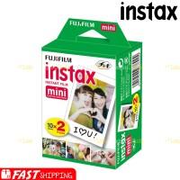 Fujifilm Refill Polaroid Instax Mini Film Twinpack Plain - 1 Box Isi 2