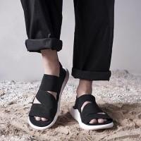 Murah Adidas Y 3 Qasa Sandal Black White and Fullblack Premium Origin