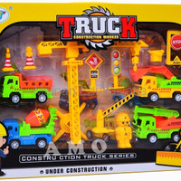 PROMO TRUCK CONSTRUCTION WORKER