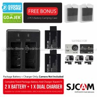 Complete Set Baterai/Battery Charger for SJCAM & BRICA B-PRO5 ALPHA