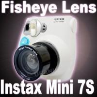 SPECIAL Holga Fish Eye Lens untuk kamera Instax 7s polaroid RECOMENDE