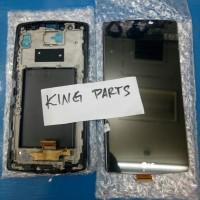 LCD LG g4 dual h818 1set and frame black ori Murah