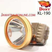 PROMO Senter Kepala Dony KL 190 LED 10W Putih / Kuning