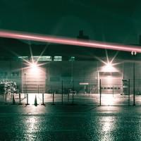 lampu led sorot 100W / tembak / panggung / outdoor / taman / lapanga