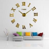Jam Hias Jam Dinding Besar DIY 80 130cm Diameter WLCS10070 Silver 944302c95a