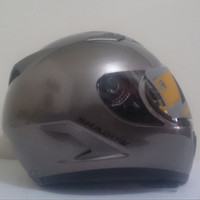 HELM  NJS  SHADOW FULL FACE SOLID  GREY  BELL