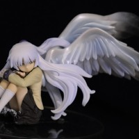 Action Figure PVC Angel Beats Kanade Wing Version