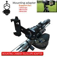 Universal Adapter Telescope Teropong Mounting Camera smartphone import