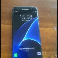 Samsung S7 Edge 32gb Black Full Set Second