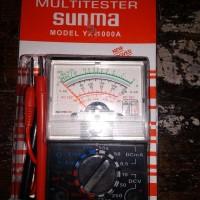 Analog MultiMeter MultiTester Analog Mini Murah Bagus Sunma YX 1000A