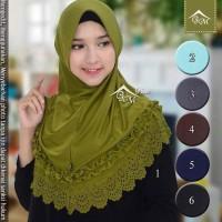 Jilbab Instan Gotik Laser / Khimar / Hijab / Kerudung Langsungan