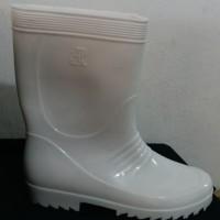 Sepatu Boot AP Pendek Putih
