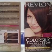 PROMOO REVLON COLORSILK NO43 MEDIUM GOLDEN BROWN HAIR COLOR CAT RAMBUT
