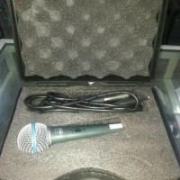 MIC Kabel Microphone Cable Soundcrest Beta 58S