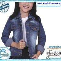 Jaket Jeans Anak Perempuan Murah Model levis Original Catenzo Jr CN134