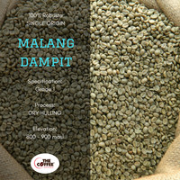 Jual Kopi Robusta Dampit Grade Washed 1 Kg - Green Bean Coffee Murah