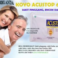 Koyo Acustop Cataplasma Plaster Pereda Sakit bahu Lutut isi 6 patch