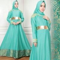 TERMURAH mayasa syari tosca busana muslim hijab gamis maxi maysha KT