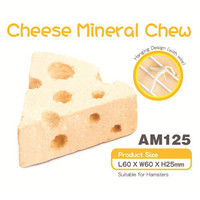 AM125 Chesee Mineral Chew for Hamster Batu Gigitan Hamster
