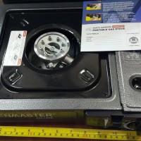 Kenmaster Kompor Portable 2IN1 Gas kaleng Dan Gas Elpij PREMIUM JA1109