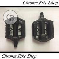 Pedal Sepeda PVC Hitam FP-808 As Besar Kecil