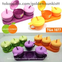 Tempat Bumbu Apel Golden Sunkist TGA 1077 1 set 3 pcs