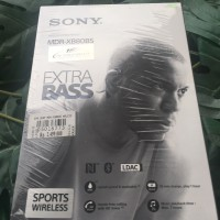 BNIB Earphone Wireless Bluetooth Sport SONY MDR-XB80BS DAPAT DOORPRIZE
