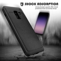 Samsung Galaxy A8 2018 Leather Gentry Series Case