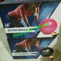 LP Support Gymball Gym Ball 55cm With Foot Pump / Bola Fitness / Yoga