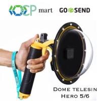 Dome port Telesin Gopro hero 7 hero 6 hero 5 black model PISTOL