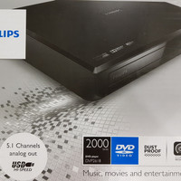 Philips DVP 2618 DVD Player - 5.1 Channels Analog Out for Home Theater