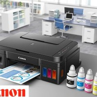 Printer Canon PIXMA G2000 All in One Ink Tank Print Scan Copy