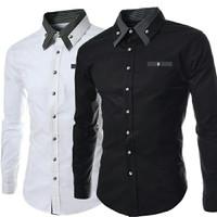 3098 Baju Murah/ Kemeja Executive RONALDO/ Baju Grosir