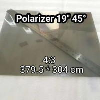 Polarizer 19inch 45 derajat LCD Polarized Polarizing Film for monito