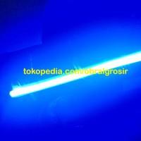 Lampu LED Variasi DRL Flexible Alis Biru 30cm Tabung Neon Motor Mobil