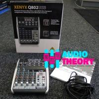 Audio Mixer Behringer Xenyx Q 802 / Q 802USB With USB Audio Interface