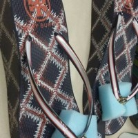 |produk terlaris|new produk| Sandal Tory burch thandie wedges flip
