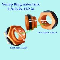 flock ring verlop 11/4 to 11/2 orange