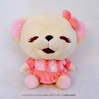 Spesial Valentine Istana Boneka Floopy Bonita Booble Head with baju 15