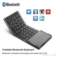 Bluetooth folding keyboard mini for tablet Gholic