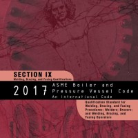 2017 ASME BPVC IX - Welding, Brazing, and Fusing Qualifications