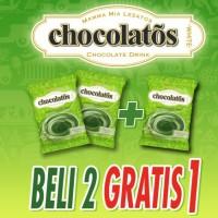 FS - Chocolatos Drink Rasa Matcha Latte (Promo Beli 2 Gratis 1) - P3